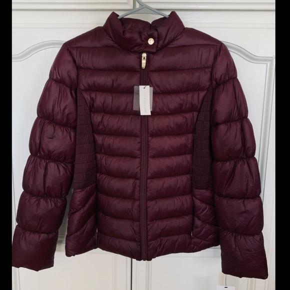 Via Spiga Jackets & Blazers - Via Spiga Stand Collar Packable Puffer Coat